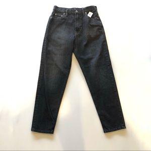 NWT Gap Black Mom Jeans